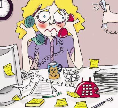 Bildresultat för jobb stress